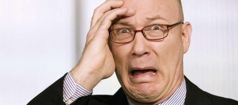 Fear the chauve à lunettes